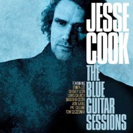 Cover image of the album The Blue Guitar Sessions by Jesse Cook