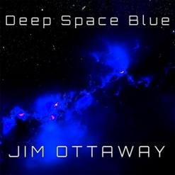 Cover image of the album Deep Space Blue by Jim Ottaway