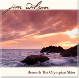 Cover image of the album Beneath the Olympian Skies by Jim Wilson