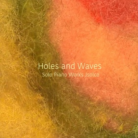 Cover image of the album Holes and Waves by Johan Bakker