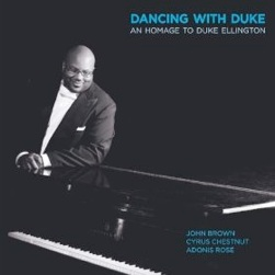 Cover image of the album Dancing with Duke by John Brown Trio