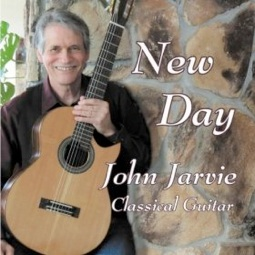 Cover image of the album New Day by John Jarvie
