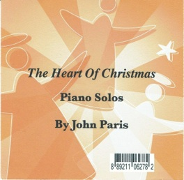Cover image of the album The Heart of Christmas by John Paris