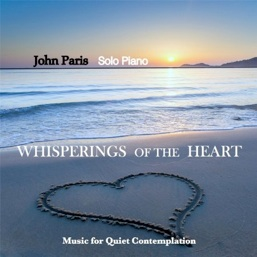 Cover image of the album Whisperings of the Heart by John Paris