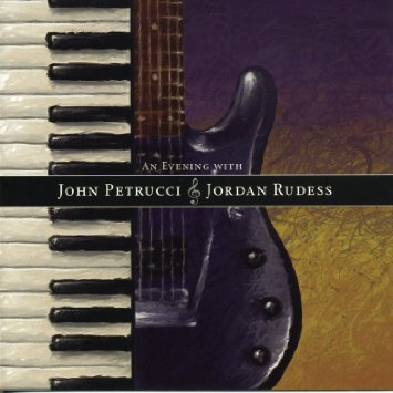 Cover image of the album An Evening With by John Petrucci and Jordan Rudess