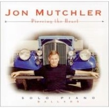 Cover image of the album Piercing the Heart by Jon Mutchler