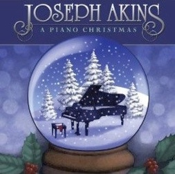 Cover image of the album A Piano Christmas by Joseph Akins