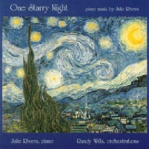 Cover image of the album One Starry Night by Julie Rivers