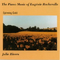 Cover image of the album The Piano Music of Eugenie Rocherolle by Julie Rivers
