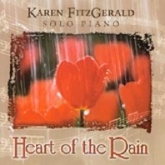 Cover image of the album Heart of the Rain by Karen FitzGerald