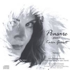 Cover image of the album Pensare Piano by Karen Marie Garrett