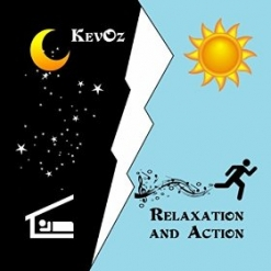 Cover image of the album Relaxation and Action by KevOz