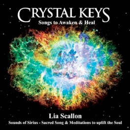 Cover image of the album Crystal Keys: Songs to Awaken and Heal by Lia Scallon