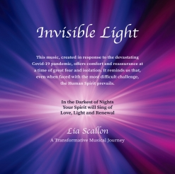 Cover image of the album Invisible Light by Lia Scallon