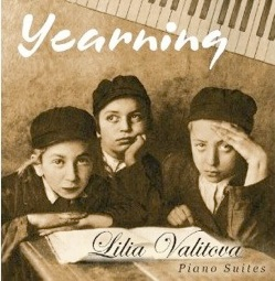 Cover image of the album Yearning by Lilia Valitova