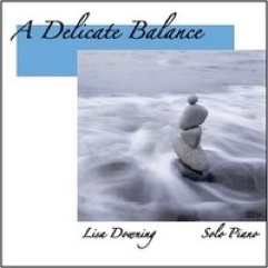 Cover image of the album A Delicate Balance by Lisa Downing