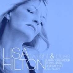 Cover image of the album twilight & blues by Lisa Hilton