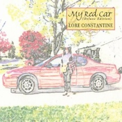 Cover image of the album My Red Car by Lore Constantine