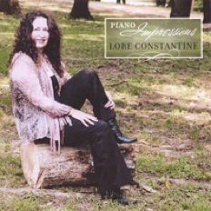 Cover image of the album Piano Impressions by Lore Constantine