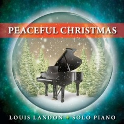 Cover image of the album Peaceful Christmas by Louis Landon