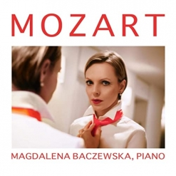 Cover image of the album Mozart by Magdalena Baczewska