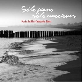 Cover image of the album Solo Piano, Solo Emociones by Maria del Mar Cabezuelo Saenz