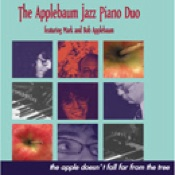 Cover image of the album The Apple Doesn't Fall Far From the Tree by The Applebaum Jazz Piano Duo