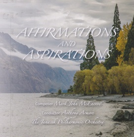 Cover image of the album Affirmations and Aspirations by Mark John McEncroe