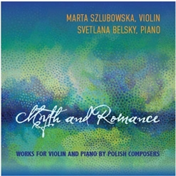 Cover image of the album Myth and Romance by Marta Szlubowska