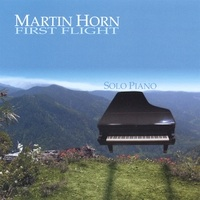 Cover image of the album First Flight by Martin Horn