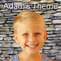 Cover image of the album Adam's Theme (Smile) single by Matt Johnson