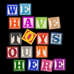 Cover image of the album We Have Toys Out Here (single) by Matt Johnson
