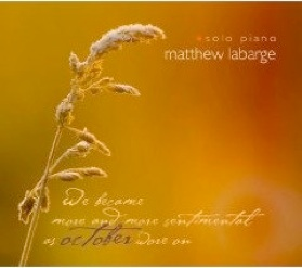 Cover image of the album October by Matthew Labarge