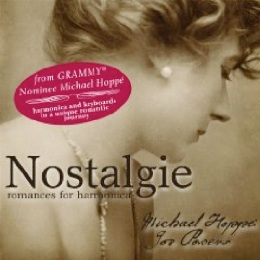 Cover image of the album Nostalgie: Romances for Harmonica by Michael Hoppé