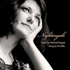 Cover image of the album Nightingale by Michael Hoppé and Giuditta