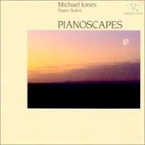 Cover image of the album Pianoscapes by Michael Jones