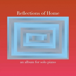 Cover image of the album Reflections of Home by Michael Mills