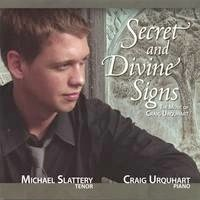 Cover image of the album Secret and Divine Signs by Michael Slattery