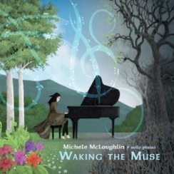 Cover image of the album Waking the Muse by Michele McLaughlin