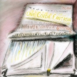 Cover image of the album Una Corda Fantasia by Milana