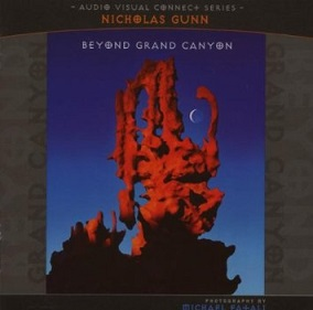 Cover image of the album Beyond Grand Canyon by Nicholas Gunn