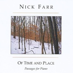 Cover image of the album Of Time and Place by Nick Farr