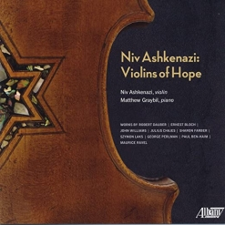 Cover image of the album Violins of Hope by Niv Ashkenazi