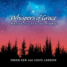 Cover image of the album Whispers of Grace by Louis Landon
