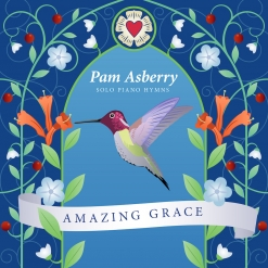 Cover image of the album Amazing Grace by Pam Asberry