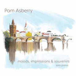 Cover image of the album Moods, Impressions & Souvenirs by Pam Asberry