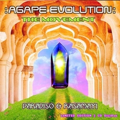 Cover image of the album Agape Evolution: The Movement by Paradiso & Rasamayi