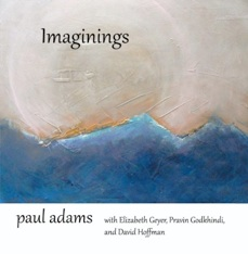 Cover image of the album Imaginings by Paul Adams and Elizabeth Geyer