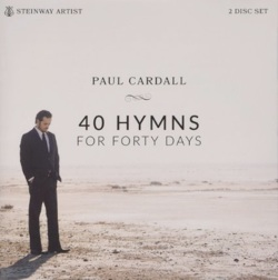 Cover image of the album 40 Hymns for Forty Days by Paul Cardall