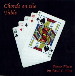 Cover image of the album Chords on the Table by Paul L. Fine